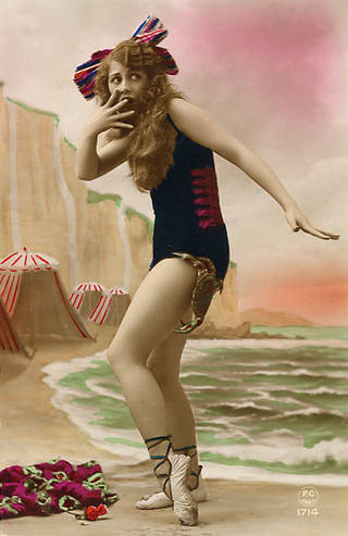 Lady_beach_scene_bitten_by_crab